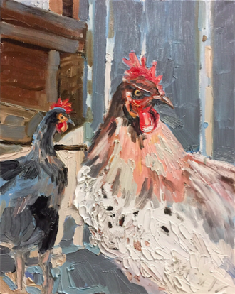 Spotted Rooster